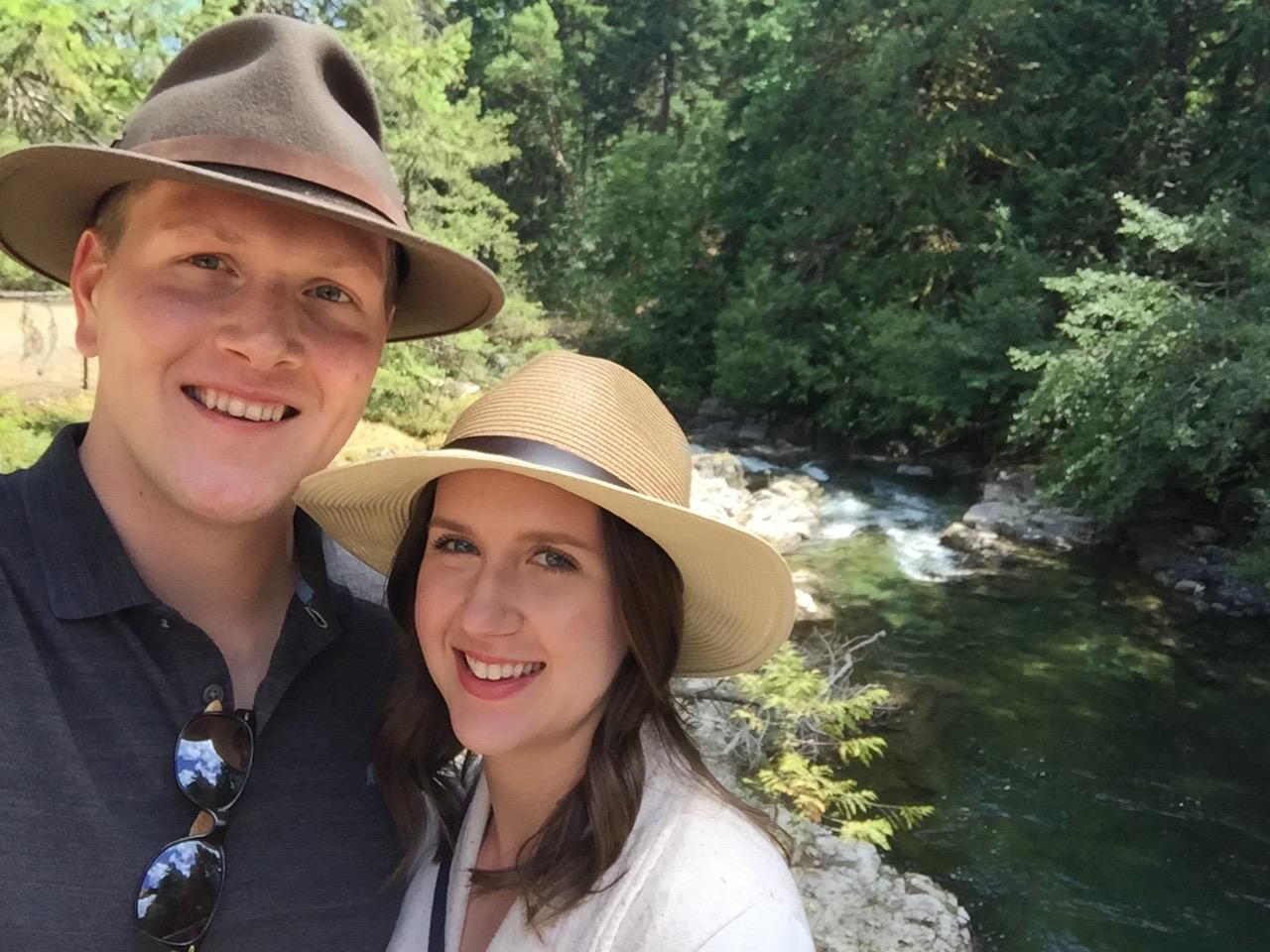 Jen and Erik Qualicum Falls, Qualicum Beach, British Columbia